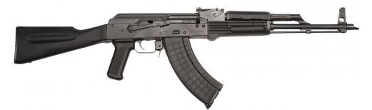 I.O. M247 AK-47 Sporter, U.S. Made 7.62x39 Caliber, Black Poly Stock and Lifetime Warranty