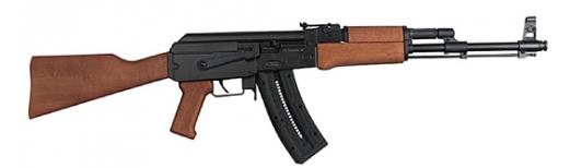 ATI GSG AK47 22LR 16 WOOD STOCK 24RD - GERG2224AK47W