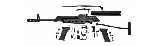 AMD 65 AK Rifle Parts Kit : Hungarian, Pre-Barreled and Finished, Excellent to Like New, Less Receiver