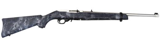 """Ruger 10/22 Carbine Stainless / Kryptek .22LR 18.5"""" 10rd Rifle - 11181"""