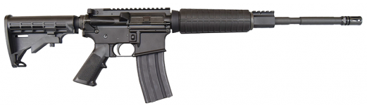 """Anderson Manufacturing AM15 Optic Ready, .223/5.56 Caliber, 16"""", M4 AR-15 Rifle w/ Collapsible Stock."""