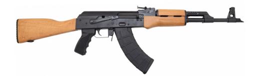 Red Army Standard RAS47 AK-47 Rifle by Century Arms RI2250-N