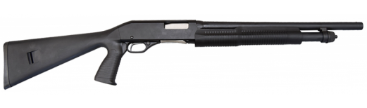 "Savage Stevens Model 320 Security Pump Shotgun -18.5"" Bbl with Bead Sight.  12 Gauge"